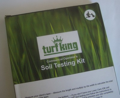 Lawn Care Soil Testing by Turf King