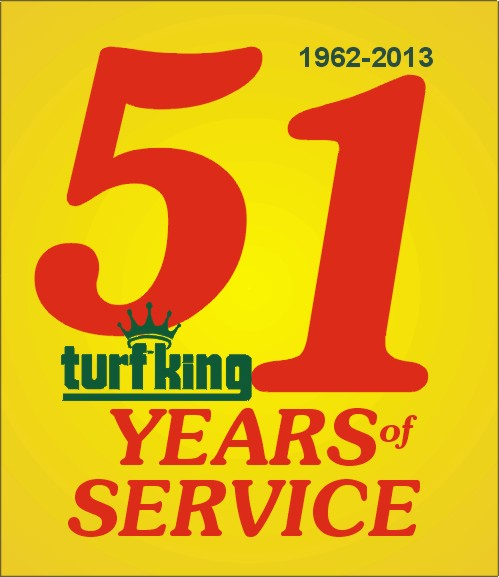 51st Anniversary Special from Turf King Lawn Care