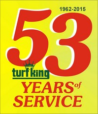 Save $53 on Lawn Care from Turf King