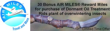 AIR MILES with Turf King Dormant Treatment