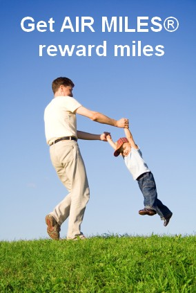 Earn AIR MILES at Turf King Lawn Care